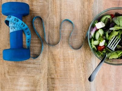 Sund kost og motion er vejen til et sundt liv